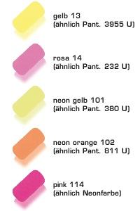 Colores de goma 3