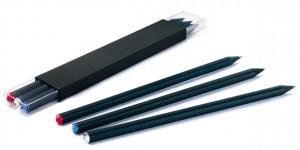 Estuches decorativos de 3 lápices con piedras Swarovski