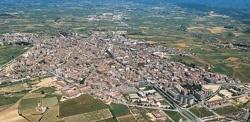 Vista aérea Vilafranca del Penedès