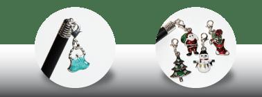 Bolso y Adornos Navidad