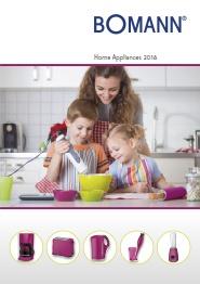 BOMANN catálogo pequeño electrodoméstico 2018