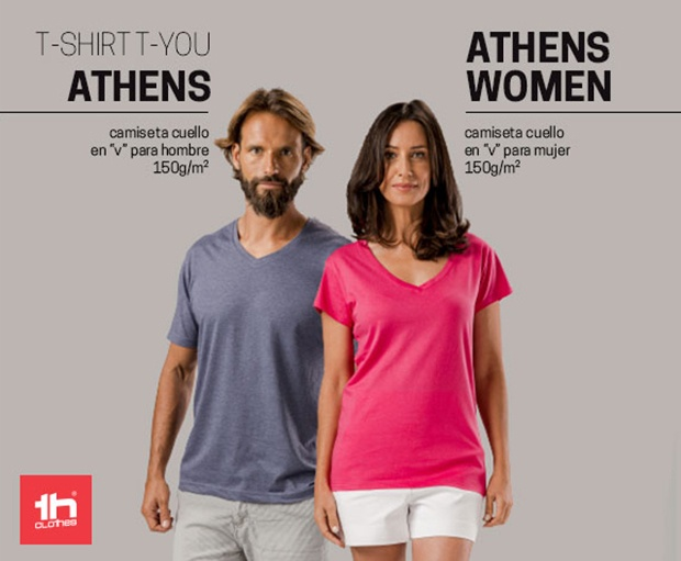 Athens - cuello en V
