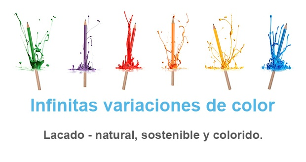 Infinitas variaciones de color