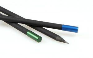 Lápices magnéticos: colores azul zafiro y verde esmeralda