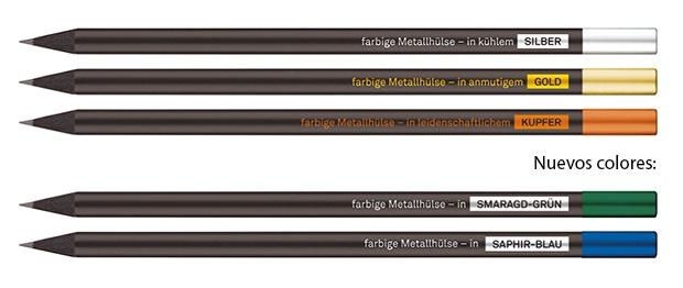 Lápices magnéticos - tapas de colores