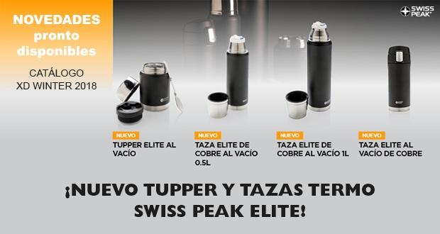 Nuevo tupper y tazas-termo Serie Swiss Peak Elite