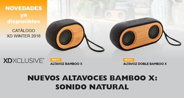 Nuevos altavoces Bamboo X - Sonido natural