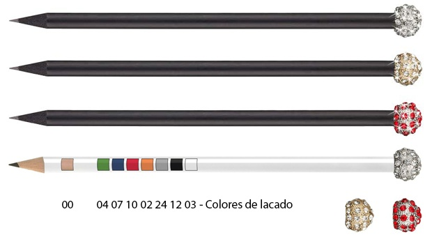 Colores de lacado lápices glamour