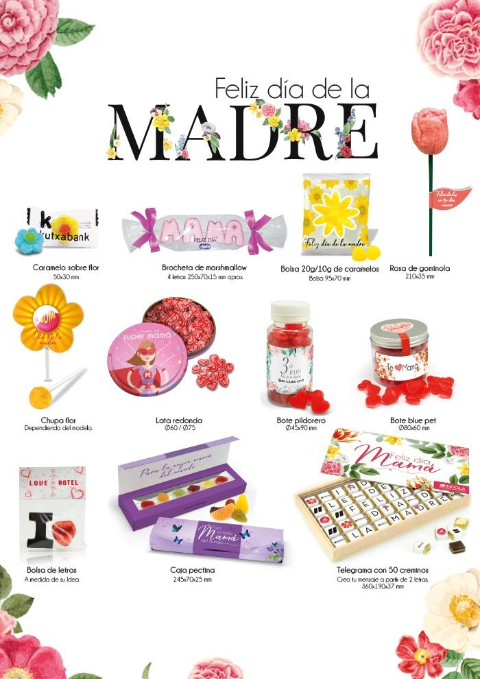 Caramelos y chocolates para el Día de la madre
