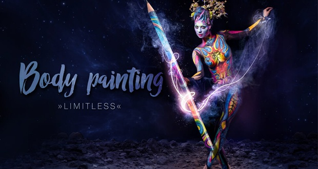 Body painting - limitless