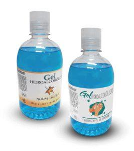 Botes gel higienizantes 500 ml