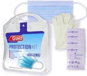 MyKit - kit de protección con toallitas limpiadoras