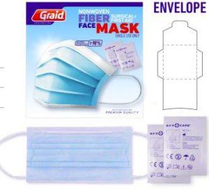 Sobre de protección con toallitas limpiadoras