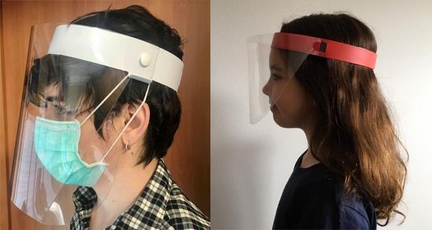 Protectores faciales para adulto y niño