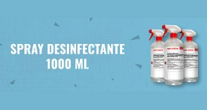 Spray desinfectante 1000 ml biodegradable