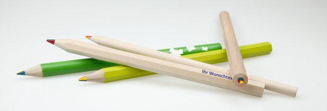 Lápices arcoiris ejemplos