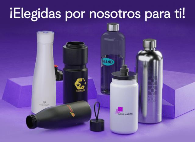 Botellas tech, térmicas y deportivas