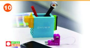 Office Blocks Pen Pot Set