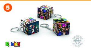 Rubik's 3×3 Keychain