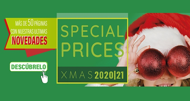 Descubre el nuevo catálogo Special Prizes Xmas 2020/21