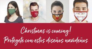 Christmas is coming! Protégete con estos diseños navideños