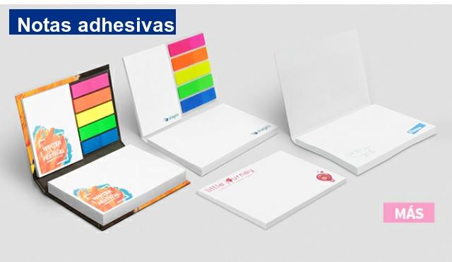notas adhesivas y sets de notas adhesivas