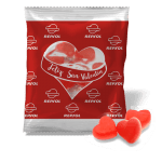 Bolsa 10g con corazones