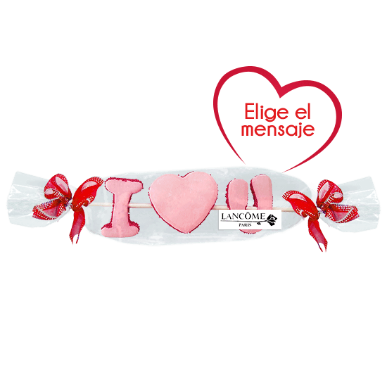Brocheta marshmallow San Valentín