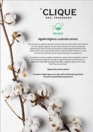 Catálogo Clique ECO Algodón Orgánico