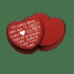 Dispensador caja mints corazón