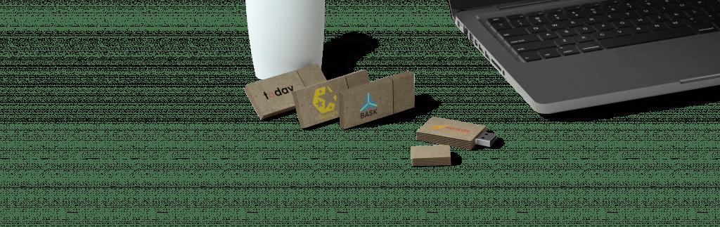 Cardboard USB
