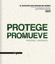 Catálogo promotional products 2021 - Protege & Promueve - Antibacterial Line, Take Care & Safety