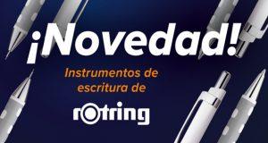 Novedad - Instrumentos de escritura rOtring