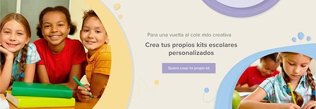 Kits escolares personalizados