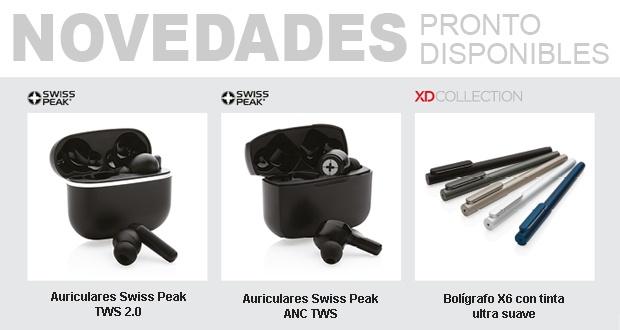 Novedades Swiss Peak y XDCollection pronto disponibles